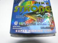 леска pike strong#0.45 100м